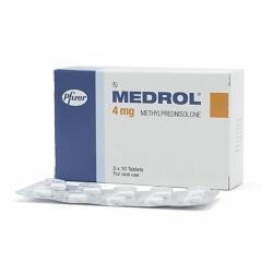 Thuốc kháng viêm Medrol 4mg, Hộp 30 viên