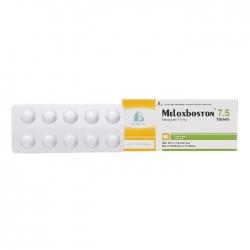 Thuốc kháng viêm Meloxboston 7.5mg 100 viên, Hộp 100 viên