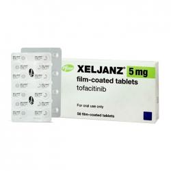 Thuốc kháng viêm Xeljanz Tofacitinib 5mg, Hộp 56 viên