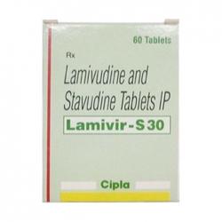 Thuốc kháng virus Cipla Lamivir-S30, Hộp 60 viên