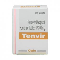 Thuốc kháng virus Cipla Tenvir Tenofovir 300mg30 viên