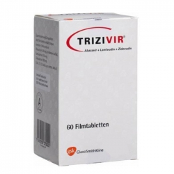 Thuốc kháng virus GSK Trizivir, Hộp 60 viên
