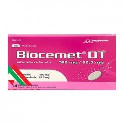 Thuốc kháng virus Imexpharm Biocemet DT 500mg/62.5mg
