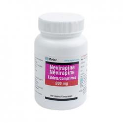 Thuốc kháng virus Mylan Nepirapine 200mg, Chai 60 viên