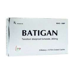 Thuốc kháng virus Phương Đông Batigan 300mg 30 viên