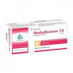 Thuốc khánh viêm Boston MethylBoston 16mg, Hộp 30 viên