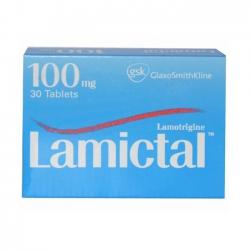 Thuốc Lamictal 100mg, Hộp 30 Viên