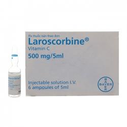 Thuốc Laroscorbine 500mg/5ml, Hộp 6 ống