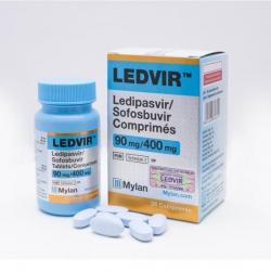 Thuốc Mylan Ledvir 90mg/400mg, Chai 28 viên (  VN3-106-18 )
