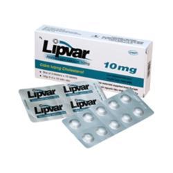 Thuốc Lipvar 10mg DHG, Hộp 30 viên