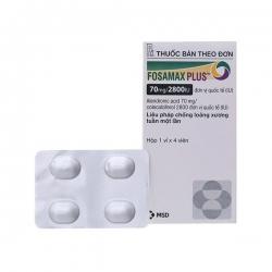 Thuốc  Fosamax Plus 70mg/2800IU, Hộp 4 viên