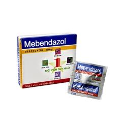 Thuốc Mebendazol 500mg Nadyphar, Hộp 1 viên