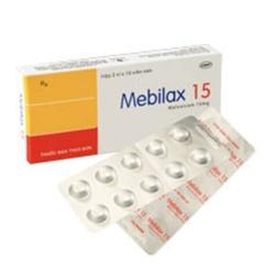 Thuốc Mebilax 15mg DHG, Hộp 20 viên