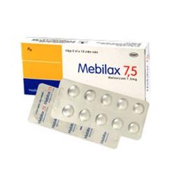 Thuốc Mebilax 7,5mg DHG, Hộp 20 viên