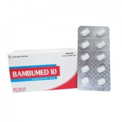 Thuốc  Medisun Bambumed 10mg, Hộp 30 viên