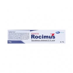 Thuốc mỡ bôi ngoài da Rocimus 0,1% | Hộp 1 tuýp 10g