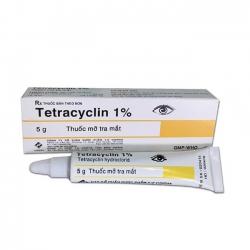 Thuốc mỡ tra mắt Tetracyclin 1% Tenamyd, Hộp 5gr