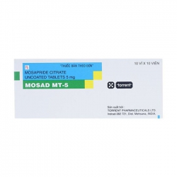 Thuốc Mosad MT-5 Mosapride 5mg, Hộp 100 viên