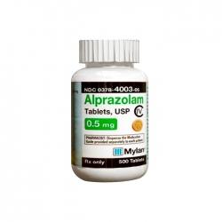 Thuốc Mylan Alprazolam 0.5mg, Hộp 500 viên  # Xanax