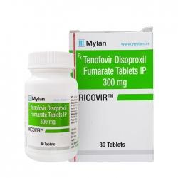 Thuốc Mylan Ricovir 300mg, Chai 30 viên