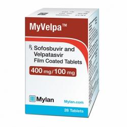 Thuốc Mylan MyVelpa 400mg/100mg, Chai 28 viên
