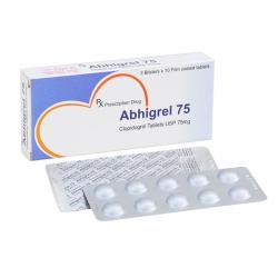 Thuốc ngăn ngừa nhồi máu cơ tim ABHIGREL 75 – Clopidogrel 75mg
