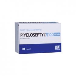 Thuốc nhiễm trùng đường tiết Piyeloseptyl Nitrofurantoin 100MG, Hộp 30 viên