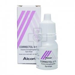 Thuốc nhỏ mắt Correctol 0,1% 10ml