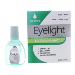 Thuốc nhỏ mắt Eyelight Cool DHG, Hộp 10ml