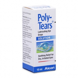 Thuốc nhỏ mắt trị khô mắt Polytears 10ml