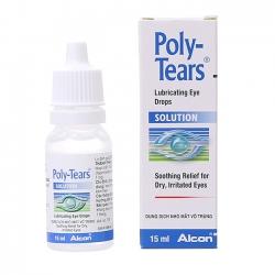 Thuốc nhỏ mắt trị khô mắt Polytears 15ml