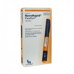 Thuốc Novorapid Flexpen 100u/ml 3ml, Hộp x 5 bút tiêm