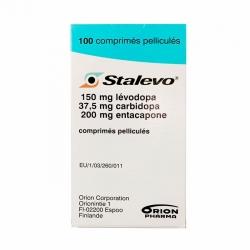 Thuốc Orion Stalevo 150mg/37,5mg/200mg, Chai 100 viên