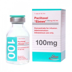 Thuốc Paclitaxel Ebewe 100MG/16.7ML
