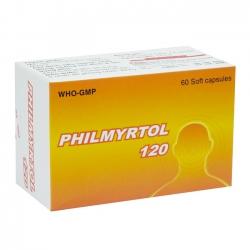 Thuốc PHILMYRTOL 120, 60 viên