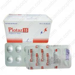Thuốc điều trị bệnh tiểu đường Týp 2 Piotaz 15 - Pioglitazone 30mg