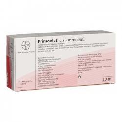 Thuốc PRIMOVIST 0.25MMOL/ML