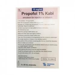 Thuốc Propofol 1% Kabi
