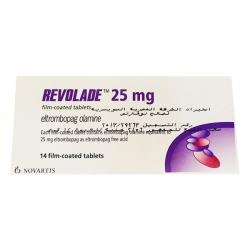 Thuốc Revolade 25mg Eltrombopag, Hộp 14 viên