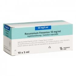 Thuốc Rocuronium Kabi 10 mg/ml, Hộp 10 Lọ