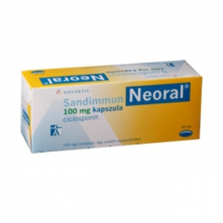 Thuốc Novartis Neoral 100mg, Hộp 50 viên