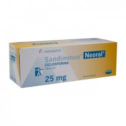 Thuốc Novartis Neoral 25mg, Hộp 50 viên