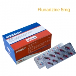 Thuốc Sobelin 5mg - Flunarizine 5mg