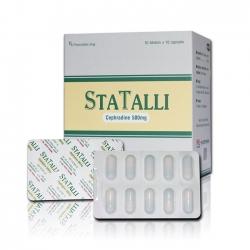 Thuốc STATALLI, Cephradine 500mg, Hộp 100 viên