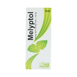 Thuốc tai mũi họng Melyptol, Chai 1 5ml