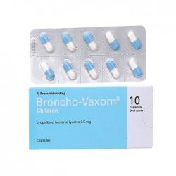 Thuốc tăng cường miễn dịch Broncho-Vaxom hộp 10 viên