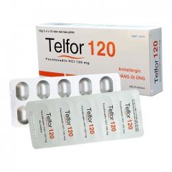 Thuốc Telfor 120mg DHG, Hộp 20 viên