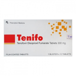 Thuốc Tenifo 300, Tenofovir 300mg, Hộp 10 viên