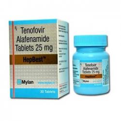 Thuốc Tenofovir Alafenamide 25mg ( HepBest ), Hộp 30 viên