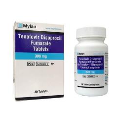 Thuốc Mylan Tenofovir Disoproxil fumarate Tablets 300mg, Hộp 30 viên